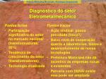 diagn stico do setor eletrometalmec nico