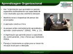 aprendizagem organizacional1