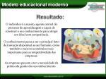 modelo educacional moderno