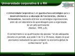 universidade corporativa o rh