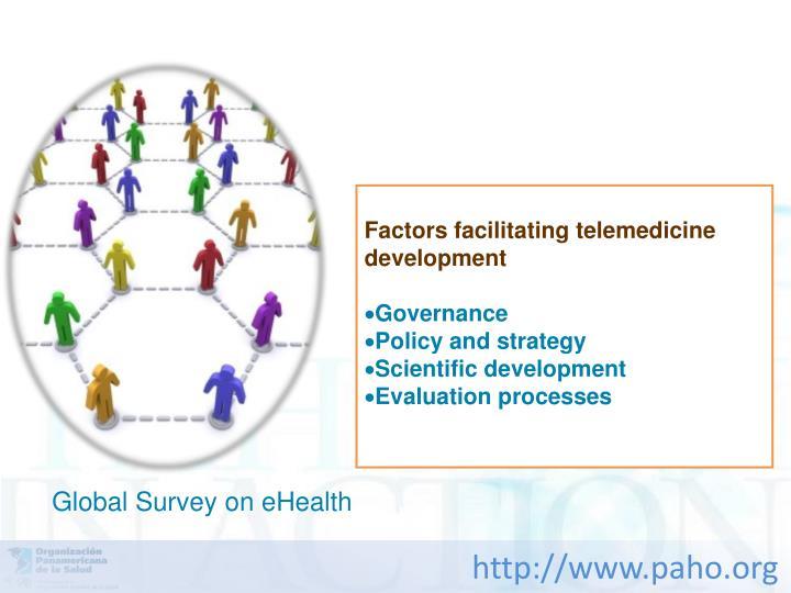 Factors facilitating telemedicine development