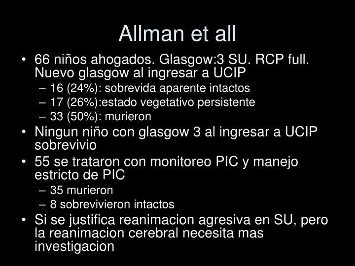 Allman et all
