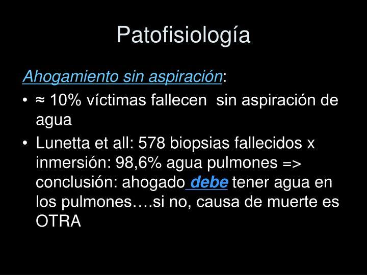 Patofisiología