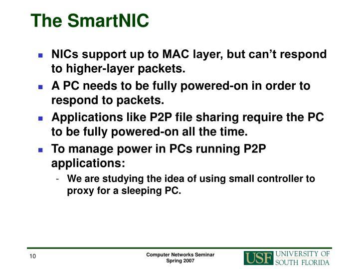 The SmartNIC