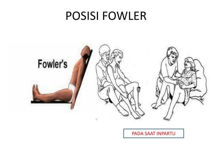 POSISI FOWLER