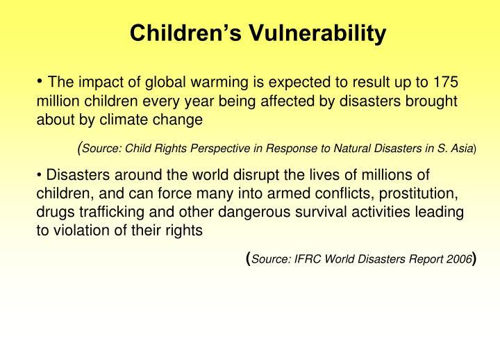 Children s vulnerability