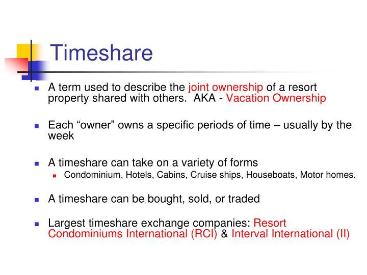 Timeshare