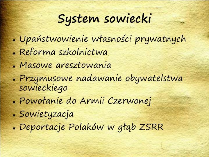 System sowiecki