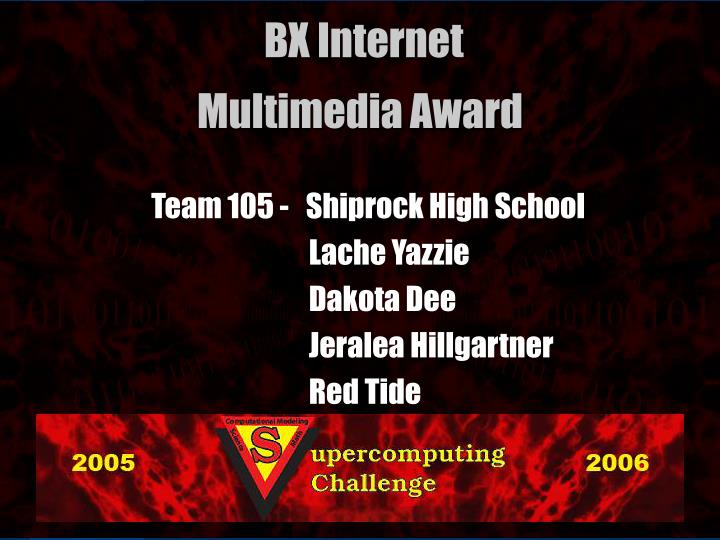 Team 105 -   Shiprock High School