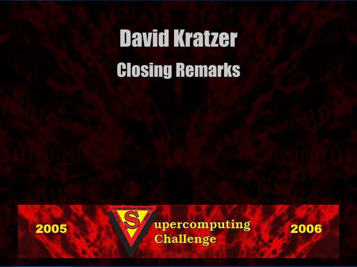 David Kratzer