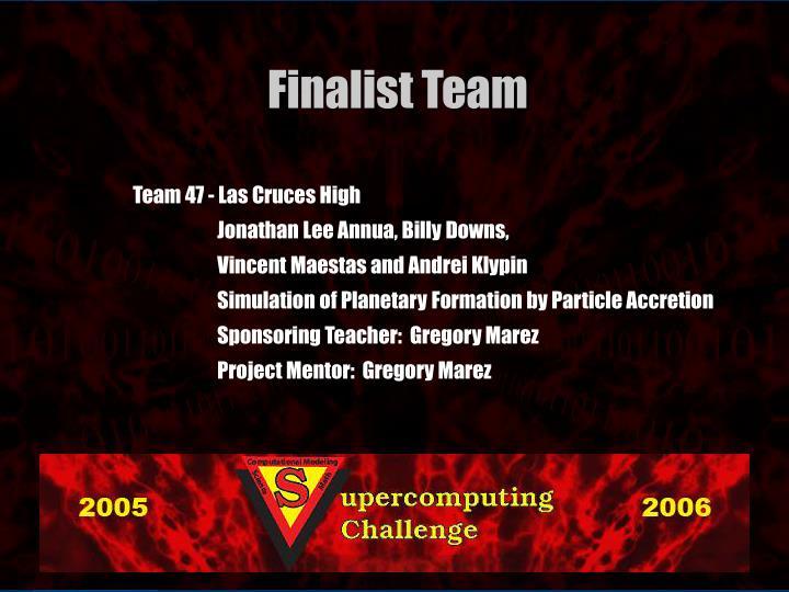 Team 47 - Las Cruces High