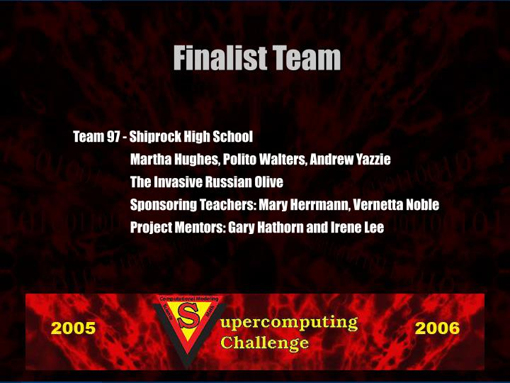 Team 97 - Shiprock High School