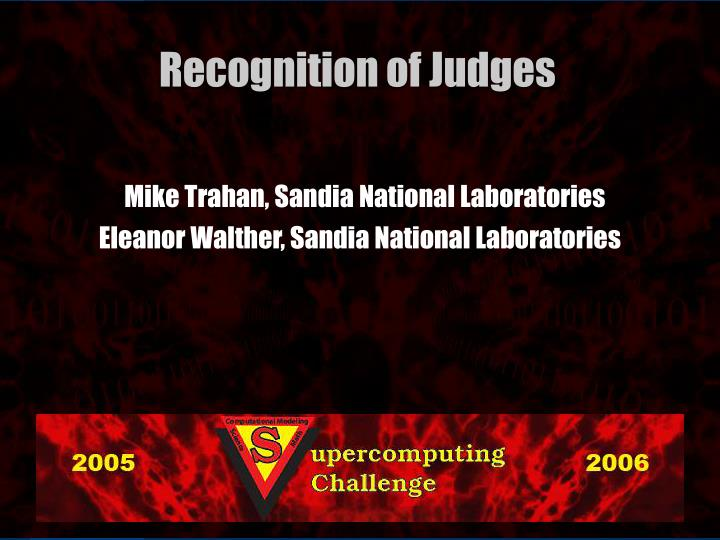 Mike Trahan, Sandia National Laboratories