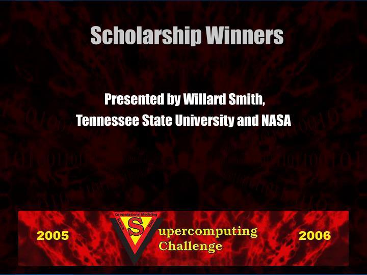 Presented by Willard Smith,