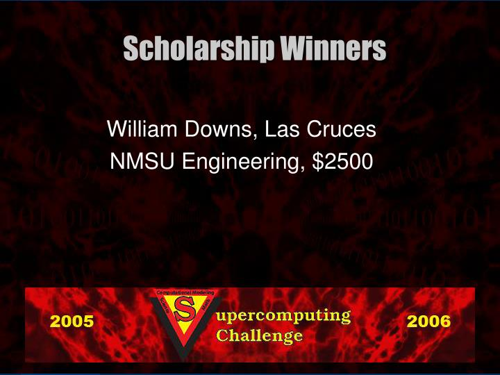William Downs, Las Cruces