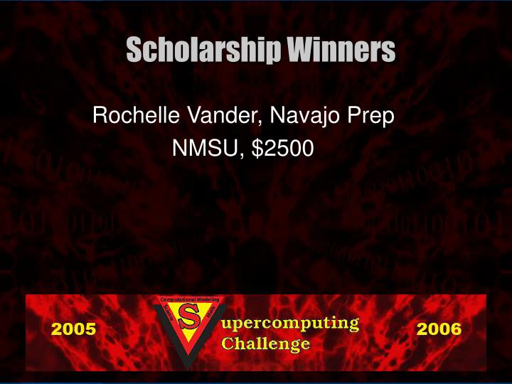 Rochelle Vander, Navajo Prep