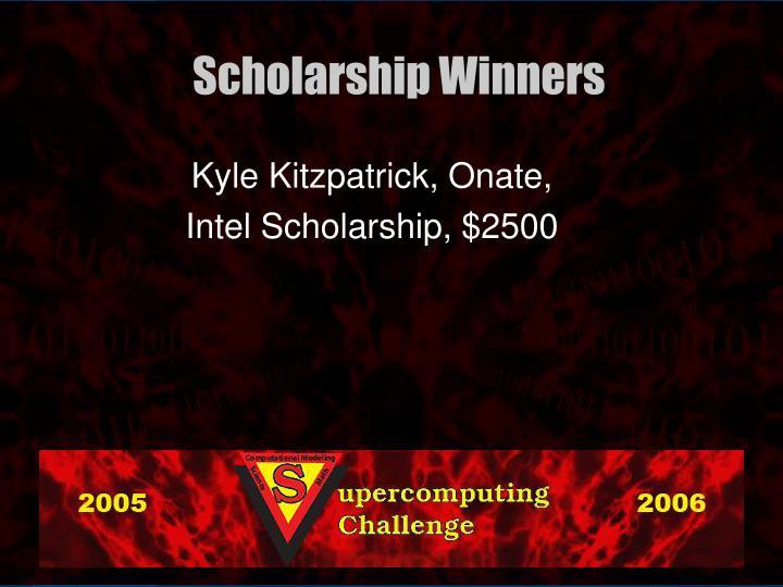 Kyle Kitzpatrick, Onate,