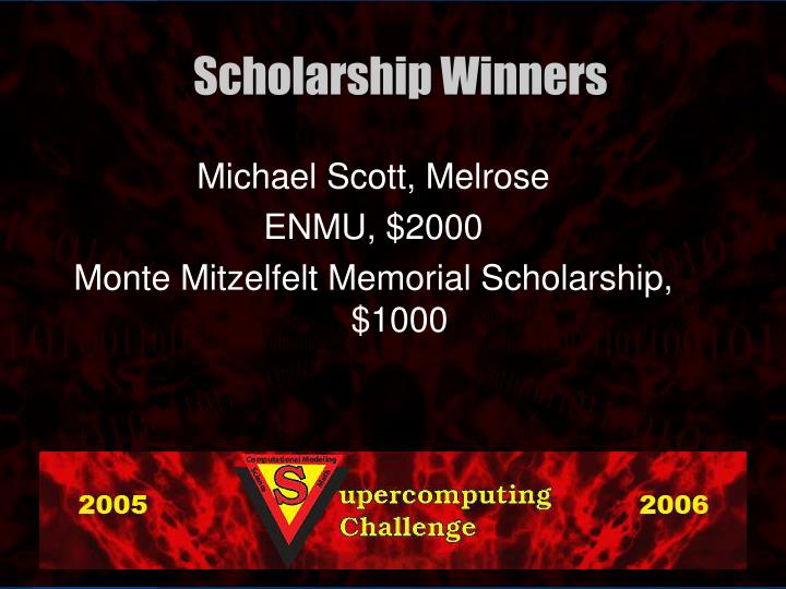 Michael Scott, Melrose