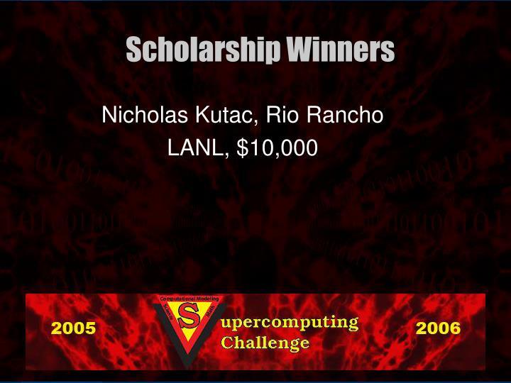 Nicholas Kutac, Rio Rancho