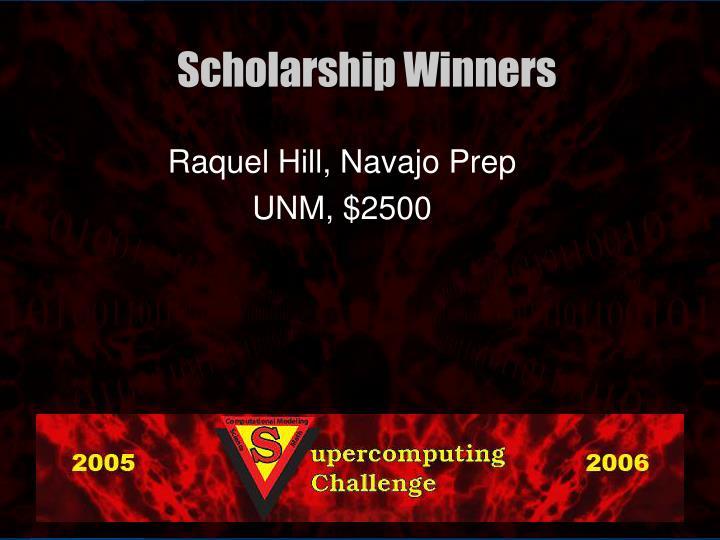 Raquel Hill, Navajo Prep
