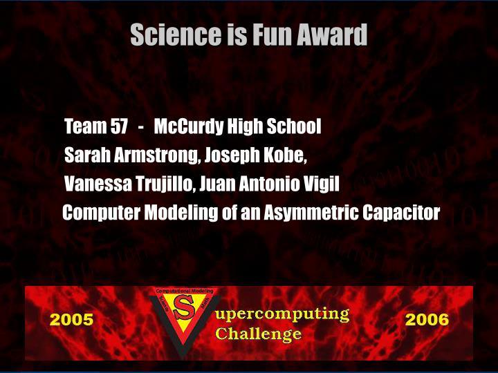 Team 57   -   McCurdy High School