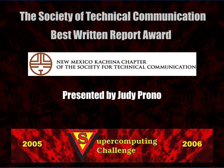 Presented by Judy Prono