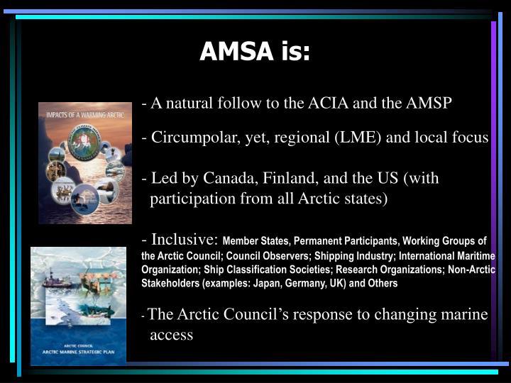 AMSA is:
