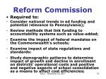 reform commission1
