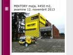 mektory maja 4450 m2 avamine 12 novembril 2013