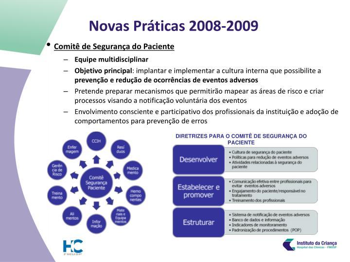 Novas pr ticas 2008 20091