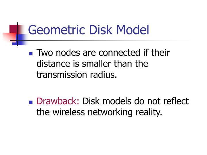 Geometric Disk Model