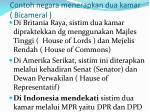 contoh negara menerapkan dua kamar bicameral