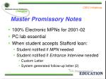 master promissory notes1