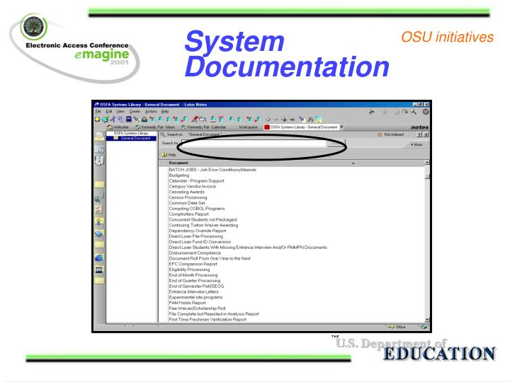 System Documentation