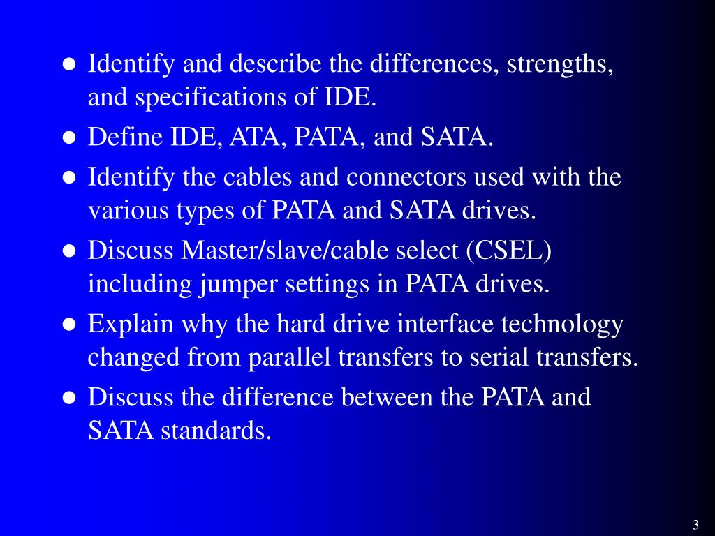 PPT - Presentation 20 – The Hard Drive Interface PowerPoint