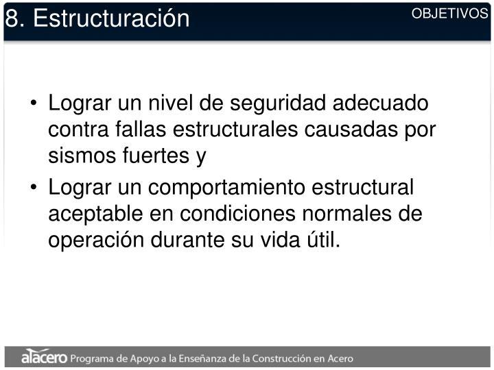 8. Estructuración