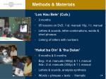 methods materials