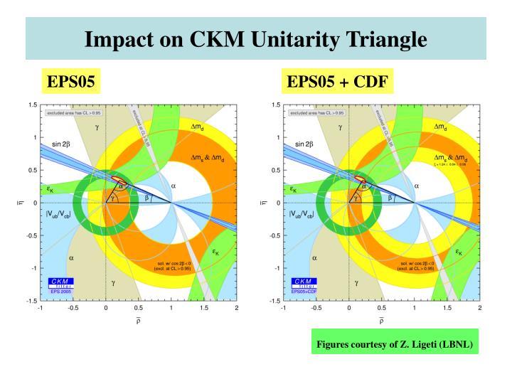 Impact on CKM Unitarity Triangle