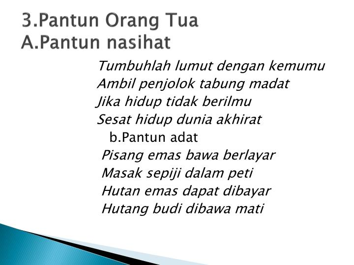 Ppt Puisi Lama Powerpoint Presentation Id 4563498
