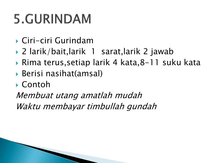 Ppt Puisi Lama Powerpoint Presentation Id 4563498