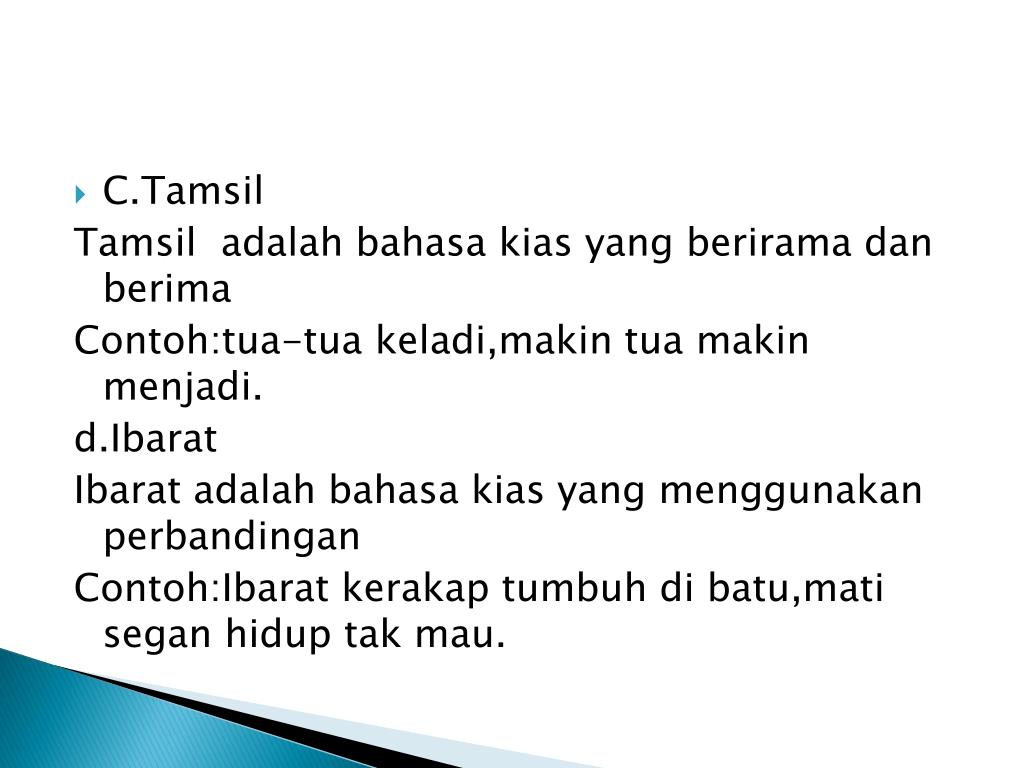 PPT - Puisi lama PowerPoint Presentation, free download ...