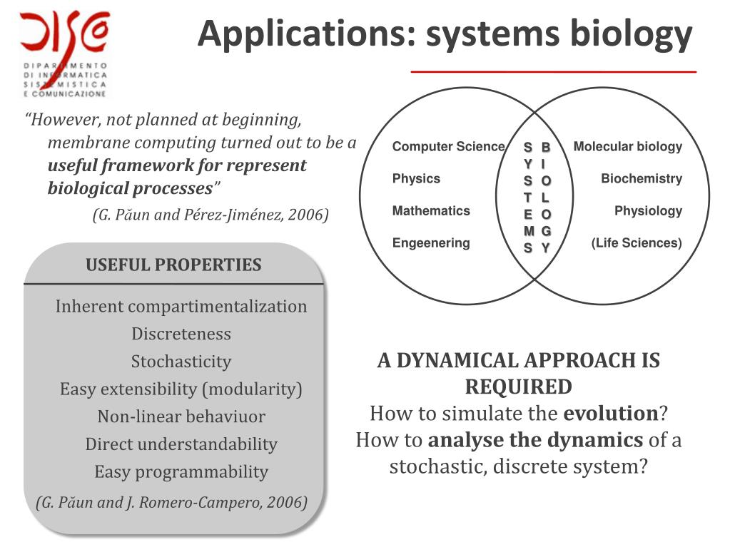 Systems biology phd thesis