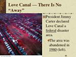 love canal there is no away2