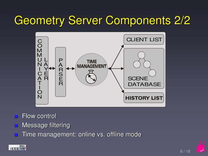 Geometry Server Components 2/2