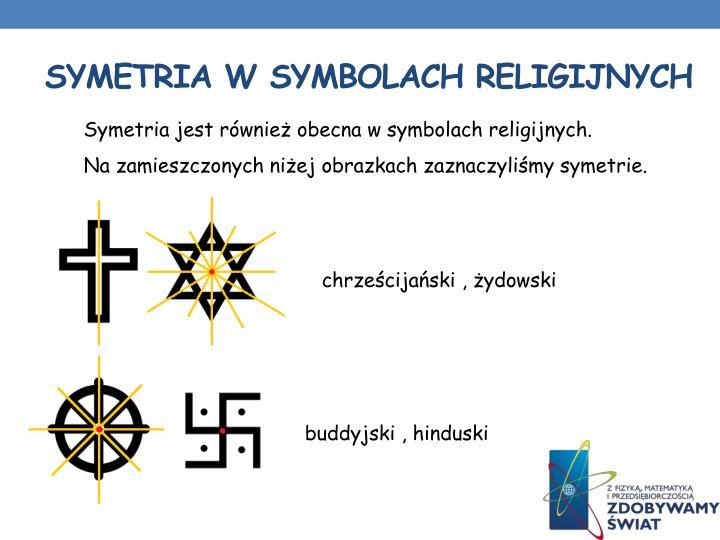 Symetria w symbolach religijnych
