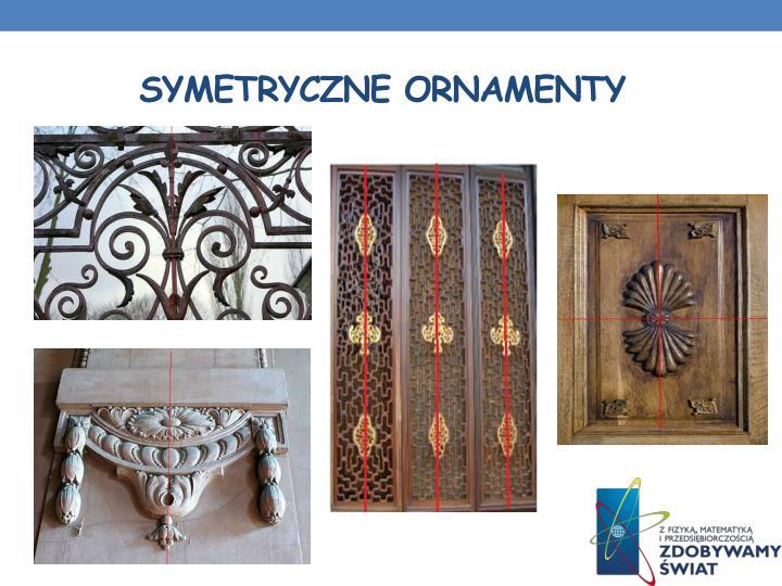 Symetryczne ornamenty