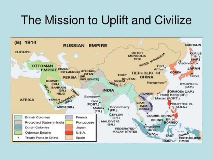 The Mission to Uplift and Civilize