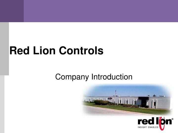 red lion controls n.