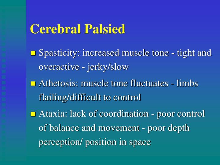 Cerebral Palsied