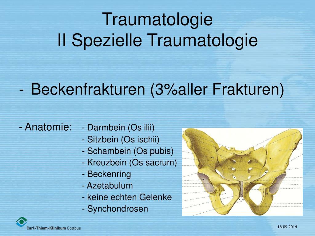 PPT - Traumatologie II Spezielle Traumatologie PowerPoint ...